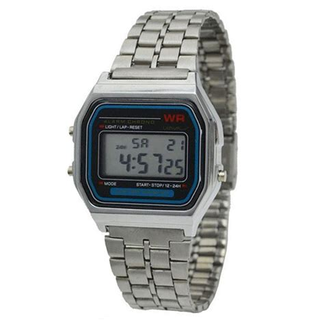 waterproof dive metal luminous watches led digital