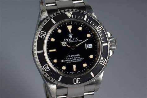 1991 Rolex Sea Dweller 16600