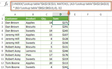 tutorial excel index the index match to look up with multiple criteria in excel