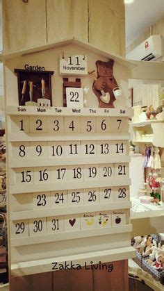 wooden calendars handcrafted perpetual wooden calendars