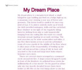 My Idea Of A World Essay by Descriptive Essay About My Home Describe Your House The Daily Post