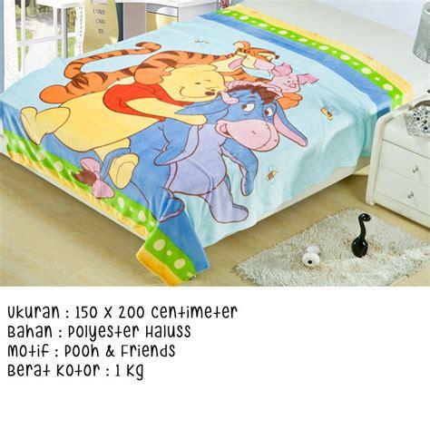 Selimut Anak Uk 150x200cm Motif Kartun 2 selimut karakter anak motif baru bahan polyester haluss