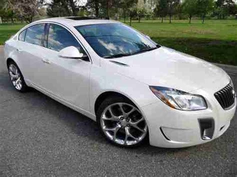 2012 Buick Regal Gs Turbo For Sale Sell Used 2012 Buick Regal Gs 6spd Turbo Htd Leather