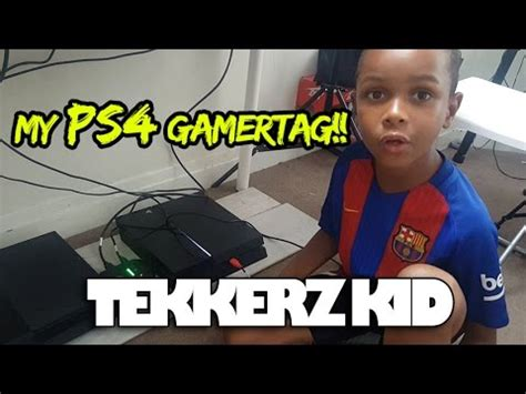 Gamertag Lookup Ps4 My Ps4 Gamertag Gaming Setup Tekkerz Kid