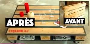 tuto comment fabriquer une table basse avec une palette