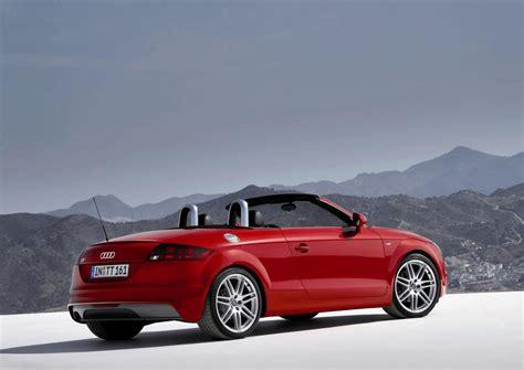 audi tt roadster picture  car review  top