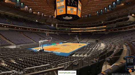 section 115 madison square garden madison square garden seating chart detailed seat