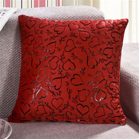 decorative pillows for bed heart retro throw pillow cases home bed sofa decorative