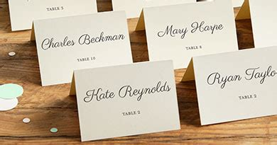 wedding reception place cards templates free 9 best images of printable place cards for wedding