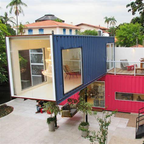 casa container casas container fachadas para inspirar casas modernas