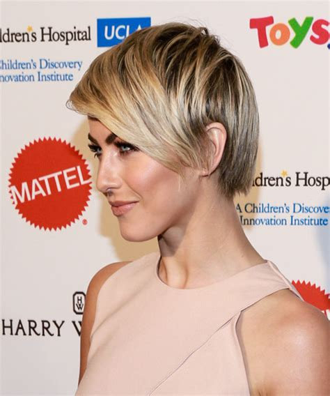 how to have julianne hough hairstyle julianne hough short straight formal hairstyle with side