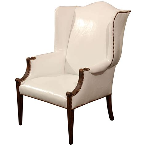 white leather wingback chair recliner x jpg