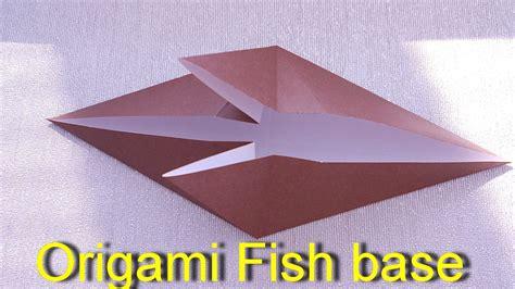 Fish Base Origami - origami origami origami fish base origami fish base