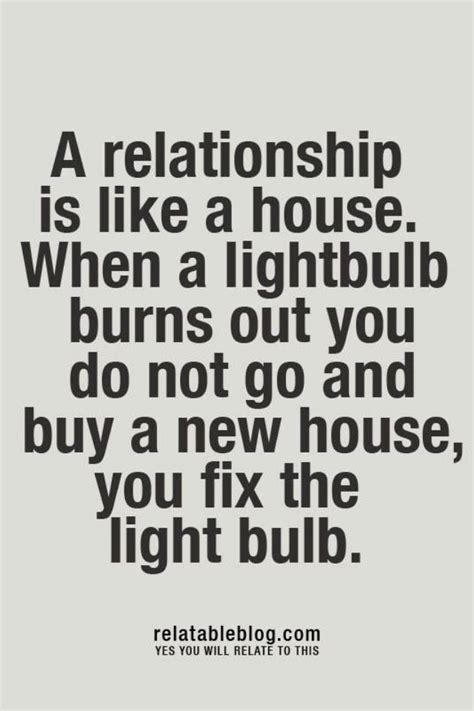 Top 12 Tips For Starting A New Relationship by A Relationship Is Like A House When A Light Bulb Burns