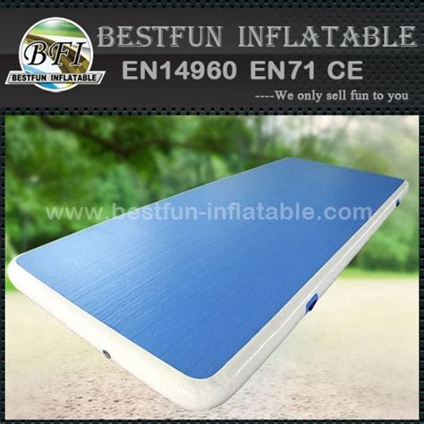 Inflating Cing Mat by Race Track Mat For Manufacturer