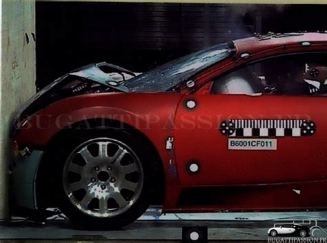 bugatti crash test bugatti veyron le crash test le plus cher du monde