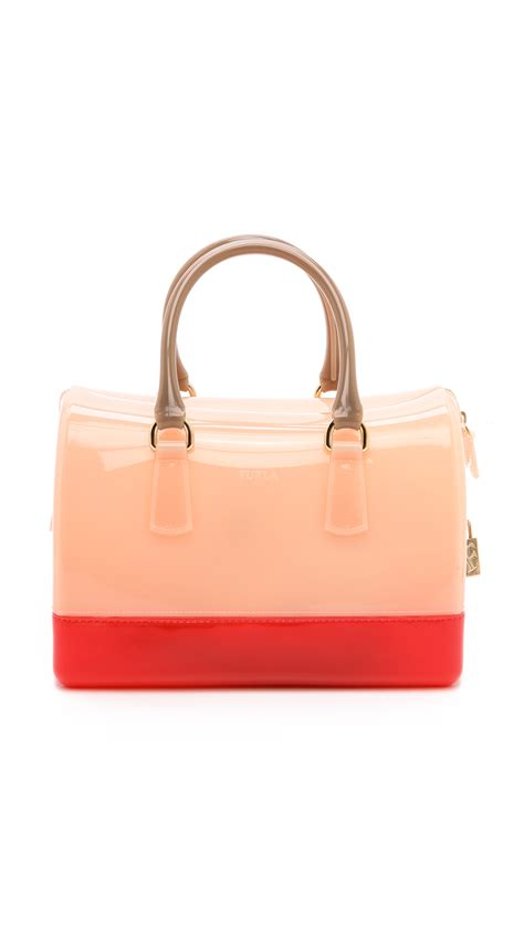 Lollipops Pink Patch Medium Bag by Furla Medium Satchel In Pink Lyst
