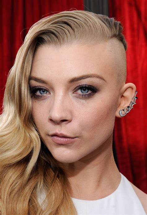 Natalie Dormer Hair by Natalie Dormer Undercut Hairstyle Strayhair