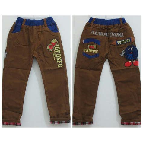 Celana Panjang Anak Celana Karet Celana Anak Laki jual celana panjang anak import m ms ct 377 ct