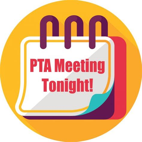 Pta Meeting Clipart parent logos pta meeting tonight pto today
