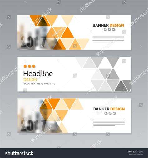 layout de banner gratis banner business layout template vector design 스톡 벡터