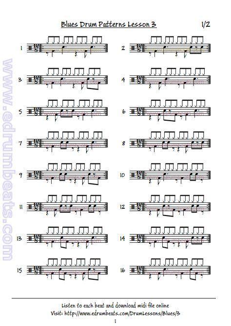 drum pattern broken age 44 best drum music sheets images on pinterest music