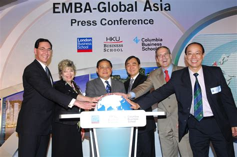 Columbia Mba Faculty by Emba Global Asia The Emba Programme Spanning