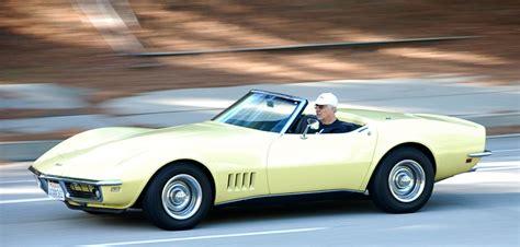 Safari Yellow by Image Gallery 1968 Yellow Corvette