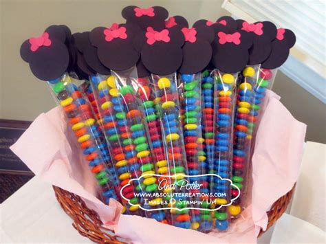 Minnie Mouse Party Giveaways - minnie mouse party pictures minnie mouse m favors andi potler independent stin