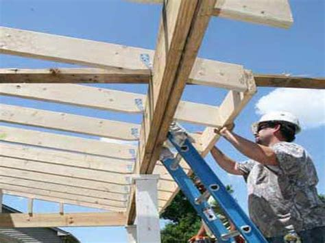 How To Build A Porch Roof With Your Own Hands How To Build A Roof A Patio