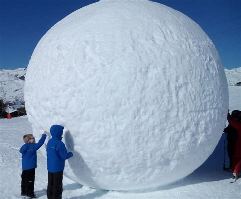 How To Roll The Hugest Snowball Possible   Your Essential