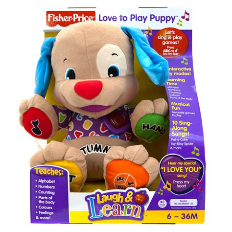 puppy to play b m fisher price to play puppy 171001 b m