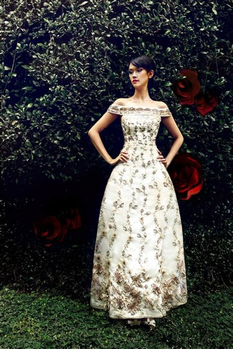 Mm 003 Dress Beautiful lace a line wedding dress with the shoulder sleeves code mm003 2144737 weddbook