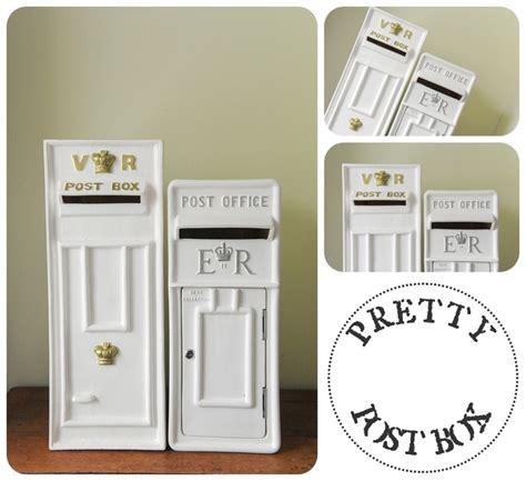 wedding card post box next day delivery one of our vr post boxes next to our er post box large