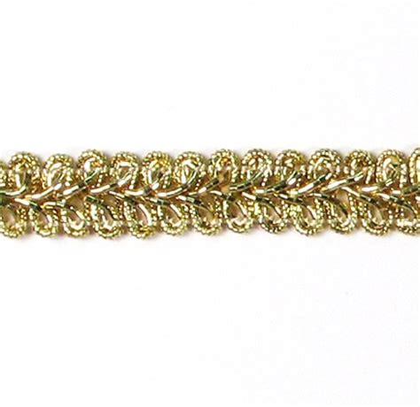 Upholstery Trim by Gold Metallic Gimp Sewing Craft Trim 12