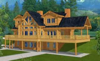 walk out basement home plans mountain home plans with walkout basement