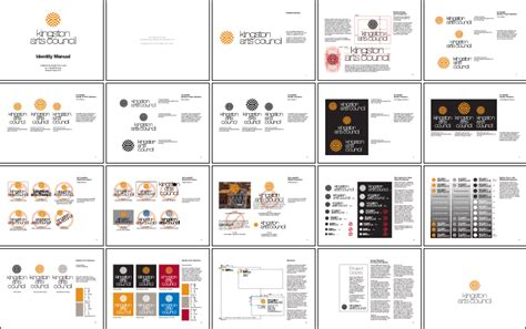 kingston design guidelines kingston arts council corporate identity manual