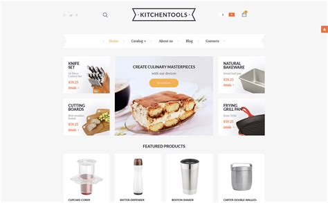 housewares responsive virtuemart template 57900