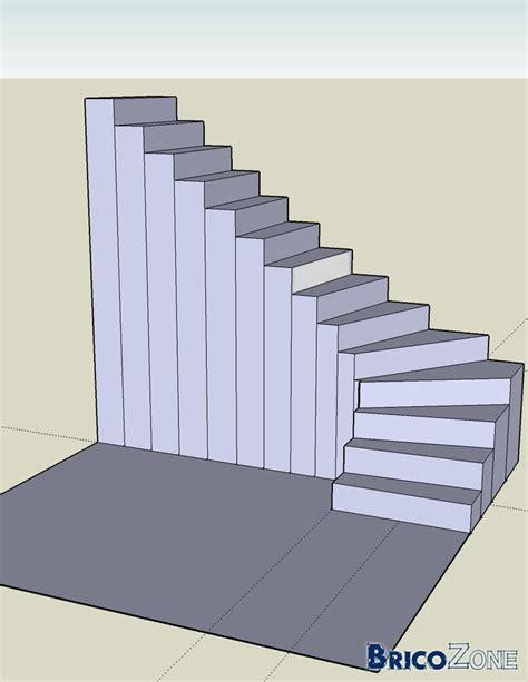balancement d un escalier 1 4 tournant