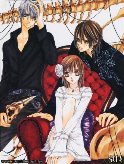film anime vire knight vire knight zero yuki and kaname japanese anime