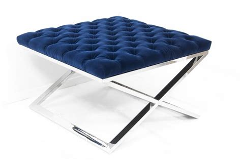x base ottoman www roomservicestore com tufted x base ottoman