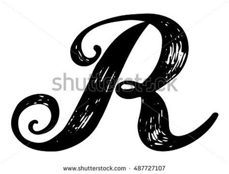 Black Letter Methodology Wallpaper Seamless Pattern Modern Classic Stock