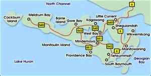 map of manitoulin island ontario canada visit a museum voyageur heritage network ontario canada