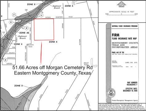 montgomery county texas flood map richard brent properties for sale acreage tract 51 66 acres in montgomery county texas