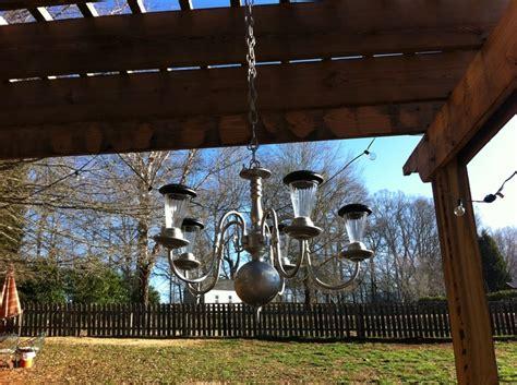solar outdoor chandelier outdoor solar chandelier outdoor diy