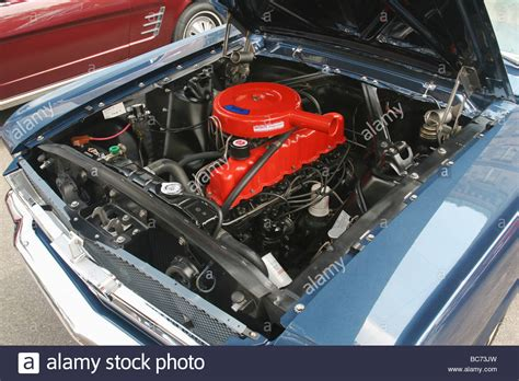 1965 mustang 200 engine engine 1965 ford mustang 200 cubic inches car show at