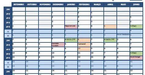 Calendario Escolar Porto Editora 2016 The Calend 225 Escolar 2015 16