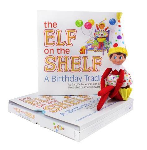 On The Shelf Birthday Tradition Book by The On The Shelf A Birthday Tradition Deluxe