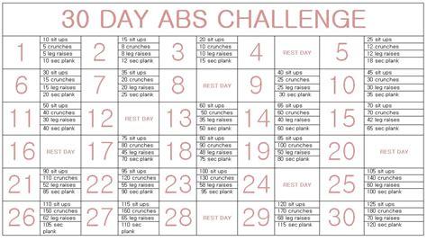 30 Day Ab Challenge Calendar 30 Day Ab Challenge Calendar Search Results Calendar 2015