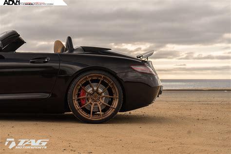 sls amg matte black matte black mercedes sls amg adv5 0 mv 2 cs wheels adv